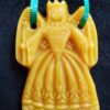 Another beeswax angel ornament