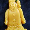 Beeswax Santa ornament