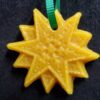 Beeswax christmas star